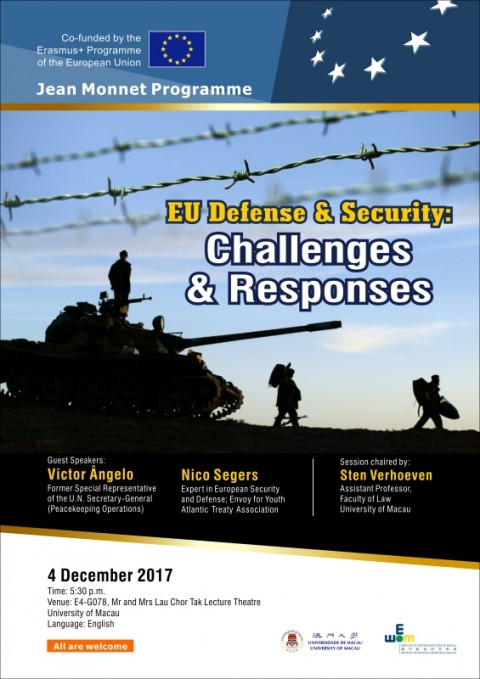 EU DEFENSE AND SECURITY: CHALLENGES AND RESPONSES